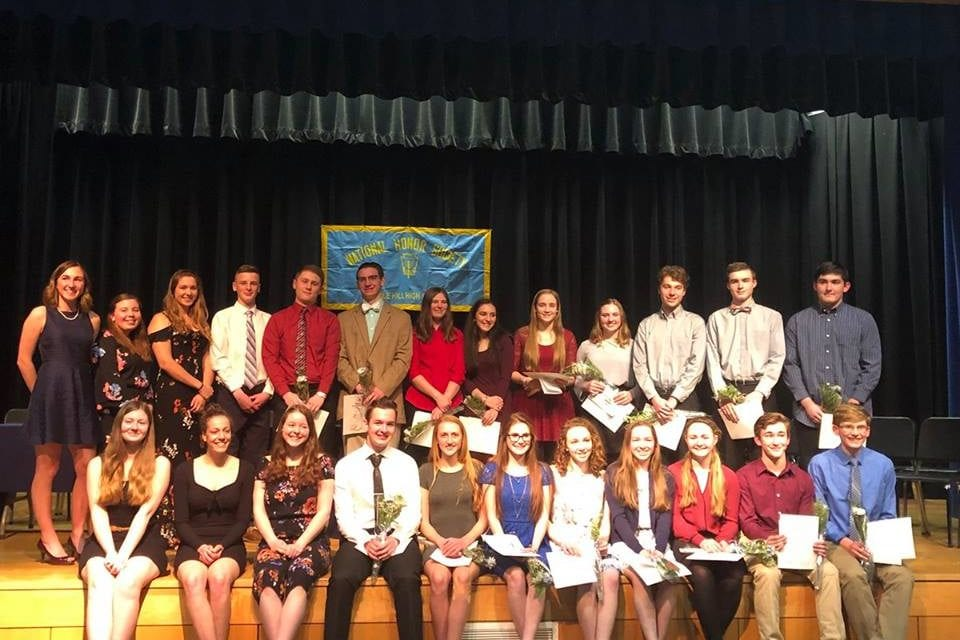 Congratulations to National Honor Society Students