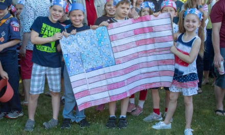 CES Celebrates Flag Day