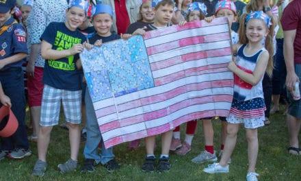 CES Celebrates Flag Day