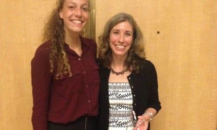 Senior Shirah Strock Honored as Scholar