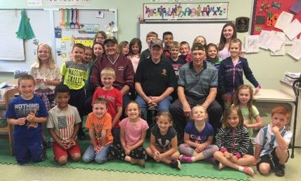 Local Veterans Visit Gr. 1 Students