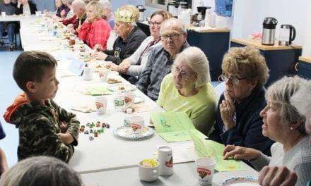 CES Senior Citizens Dessert Hour (Photos)