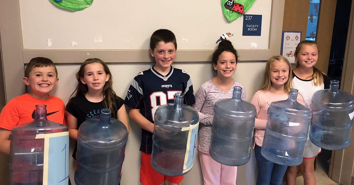 CES K-Kids Organize Donation Drives