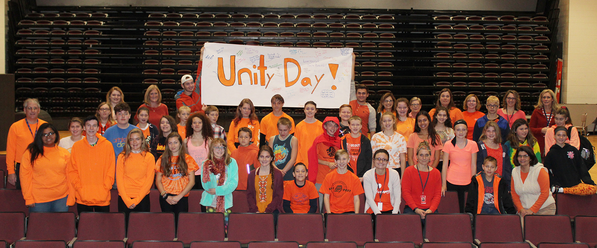 Students stand up to bullying