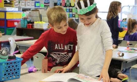 Students Receive Books They Helped Create