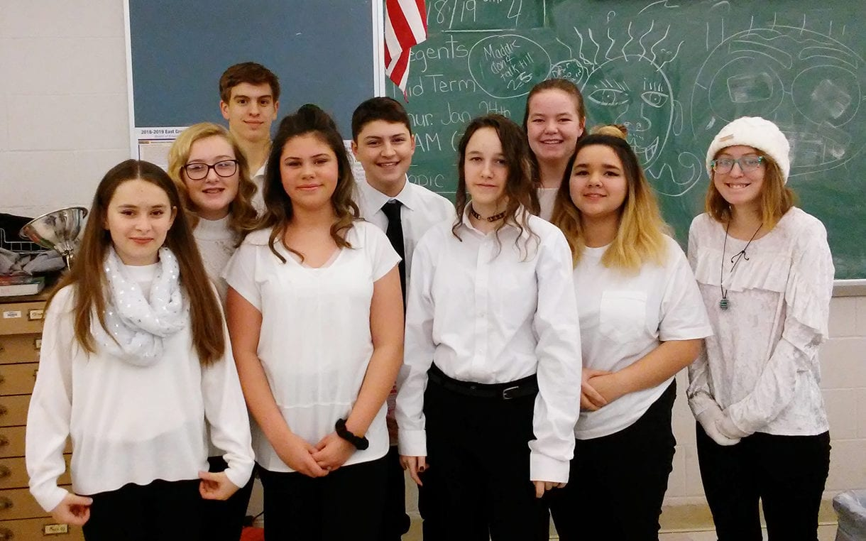 Students at All County Music Festival