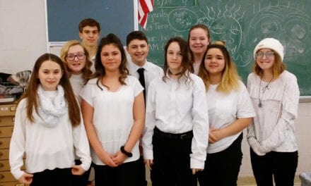 Students Perform in All County Music Festival
