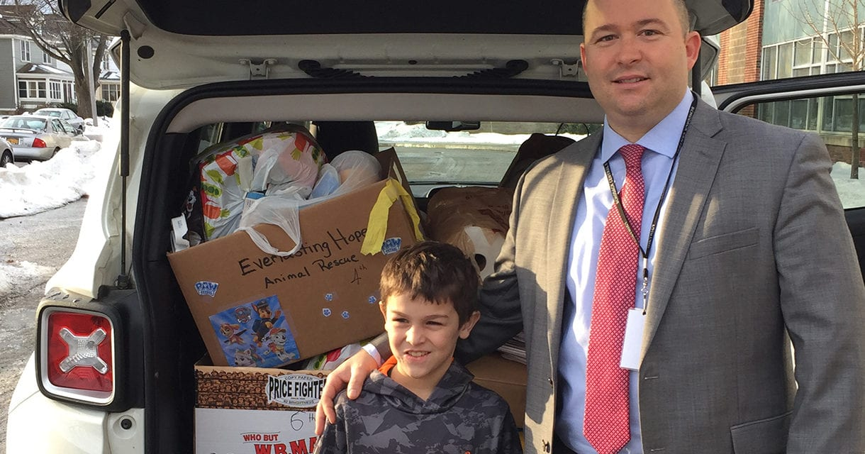 Students Collects Animal Rescue Donations