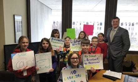 Students Advocate for Libraries