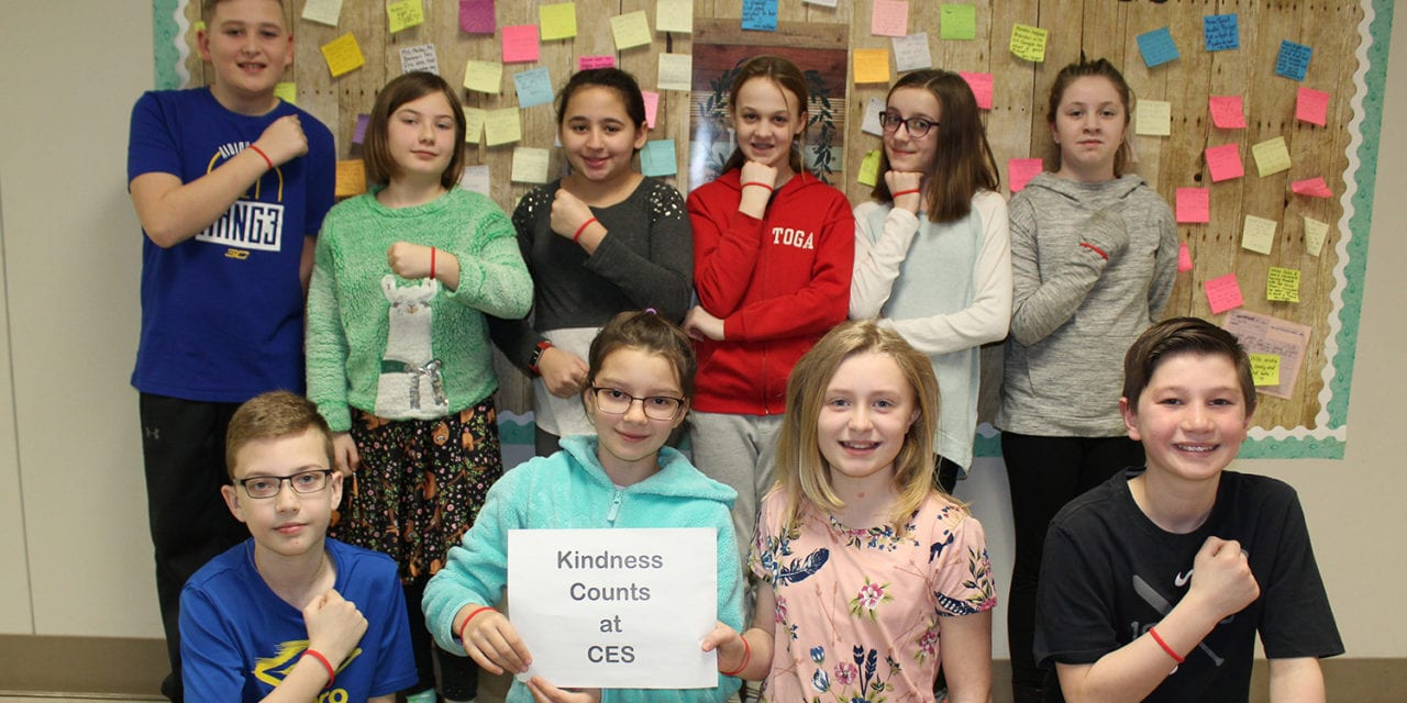 Students Spread Kindness at CES