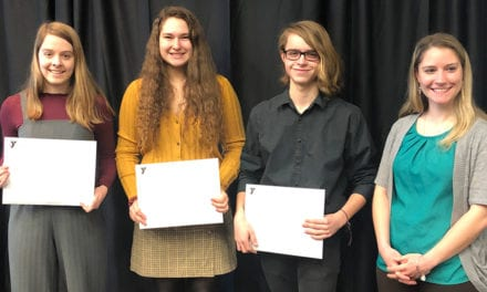 YMCA Honors Students & Teacher