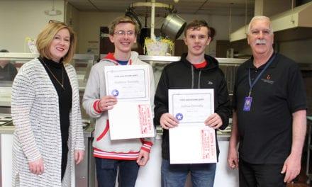 Students Earn Public Health Merit Badges