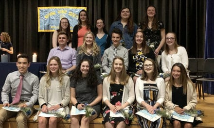 Congrats to National Honor Society Inductees