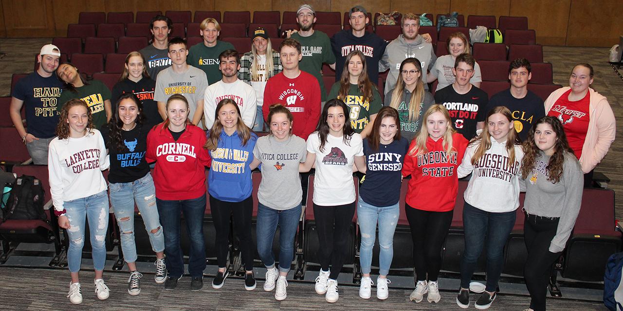 Seniors Celebrate National College Decision Day