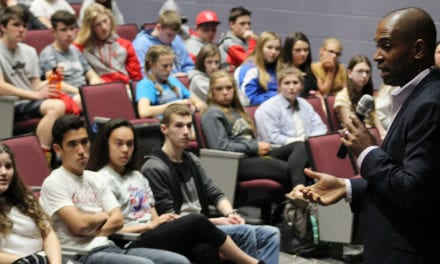 Congressman Visits to Speak with Students
