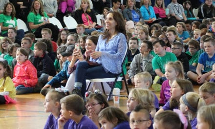 Author Inspires CES Students
