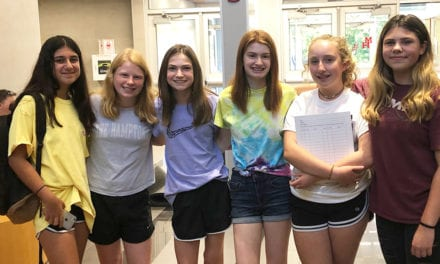 Gr. 7-8 Welcomed Back at Ice Cream Social