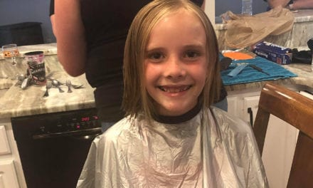 Student Donates Hair to Locks of Love