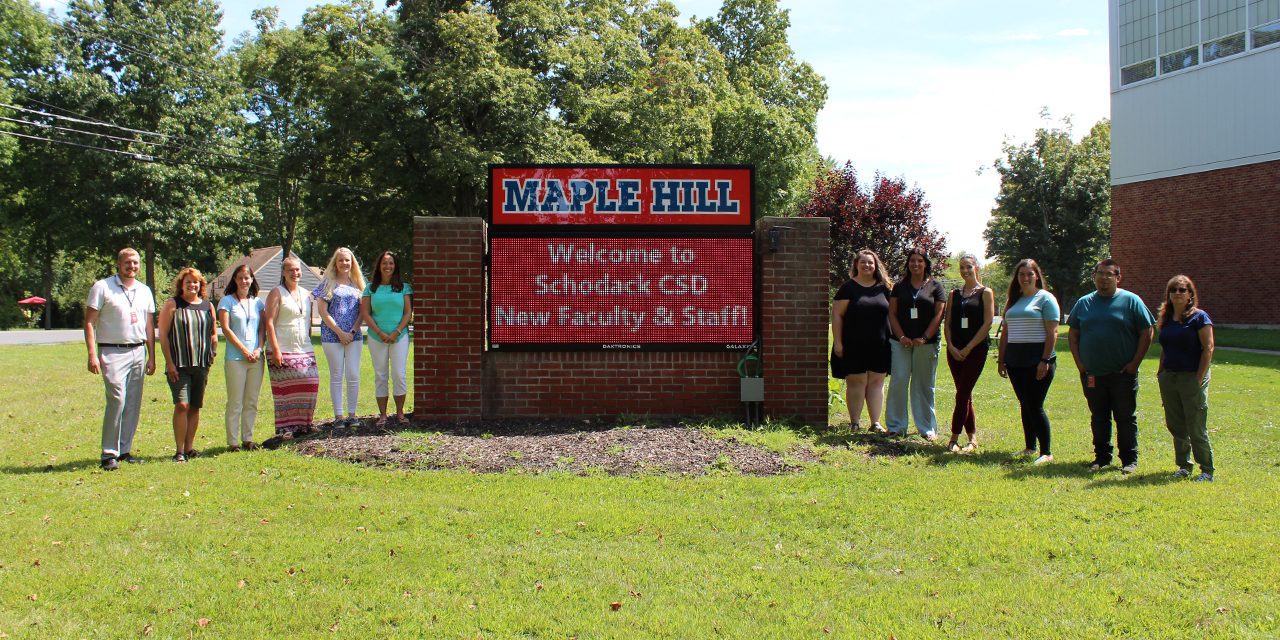 Welcome New Faculty & Staff
