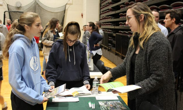 Students Learn About College Opportunities