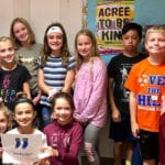 Students Collecting New Socks for Charity