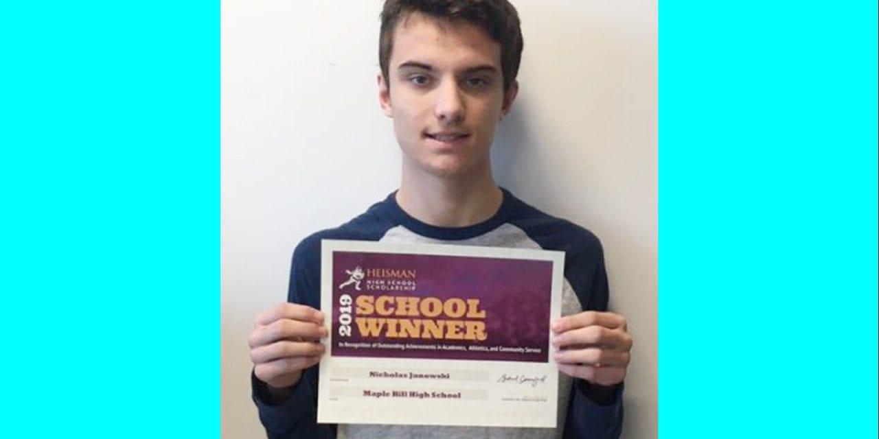 Senior Earns Heisman Scholarship Award