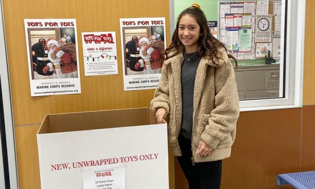 Student Organizes Toys for Tots Drive