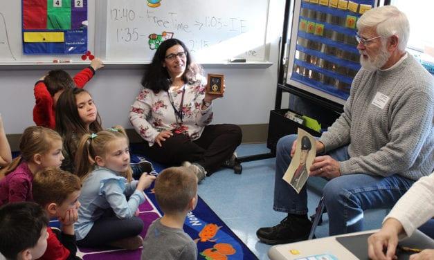 Veteran Visits Grade 1 Classroom