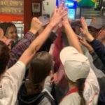 Students Volunteer for Equinox