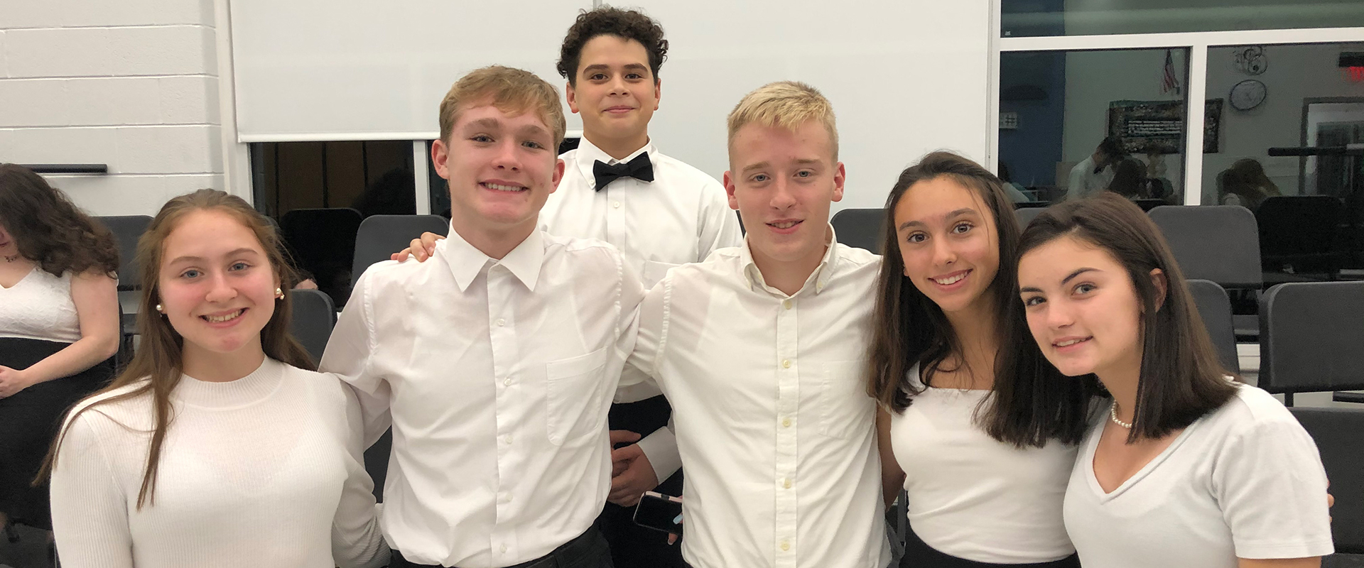 Students at Winter Concert