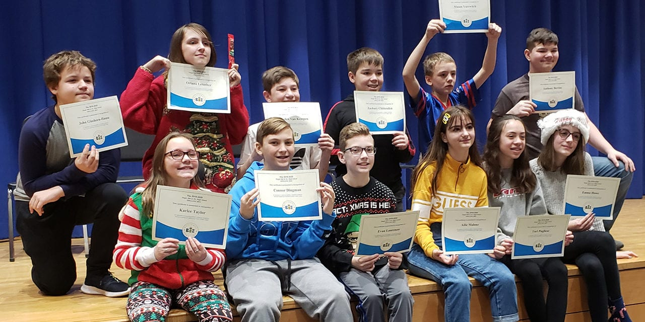 8th Grader Wins Second Spelling Bee