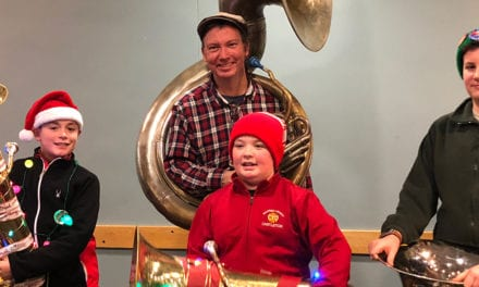 Students Perform at Tuba Christmas