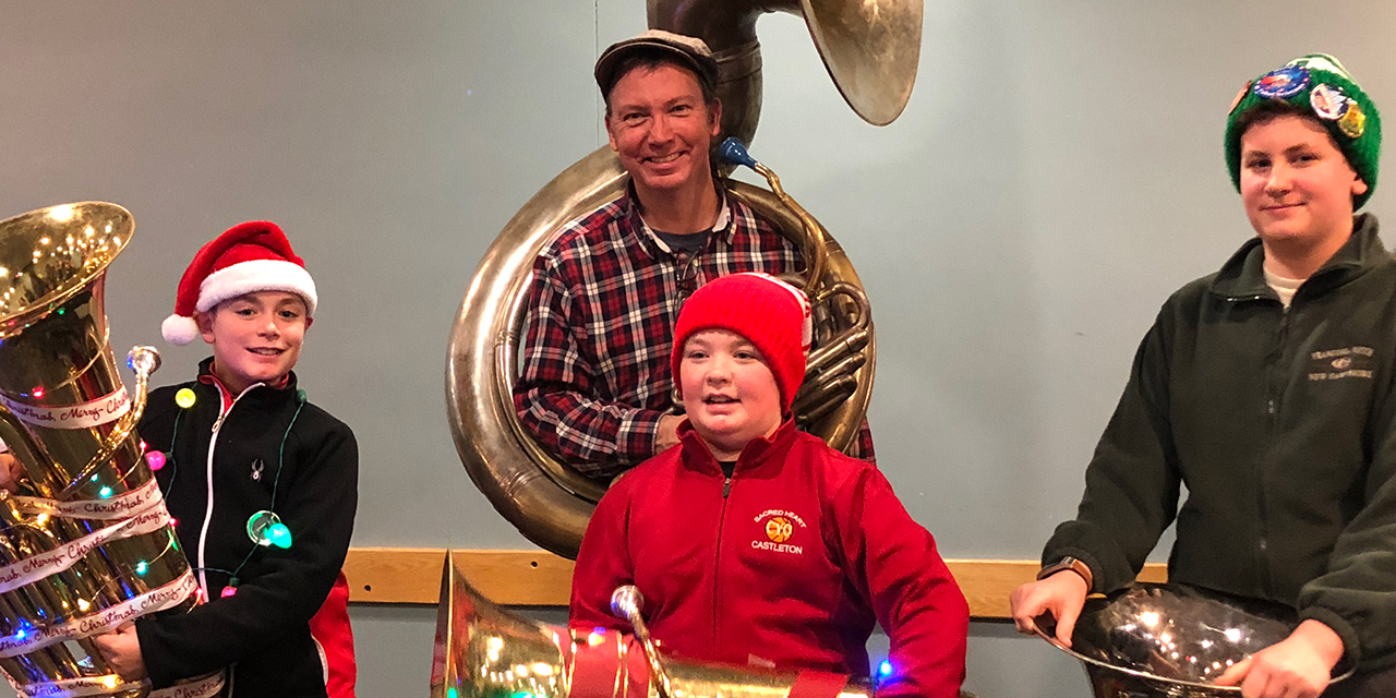 Students Perform at Tuba Christmas