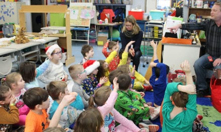 IT Dept. Visits Grade 1 Classrooms