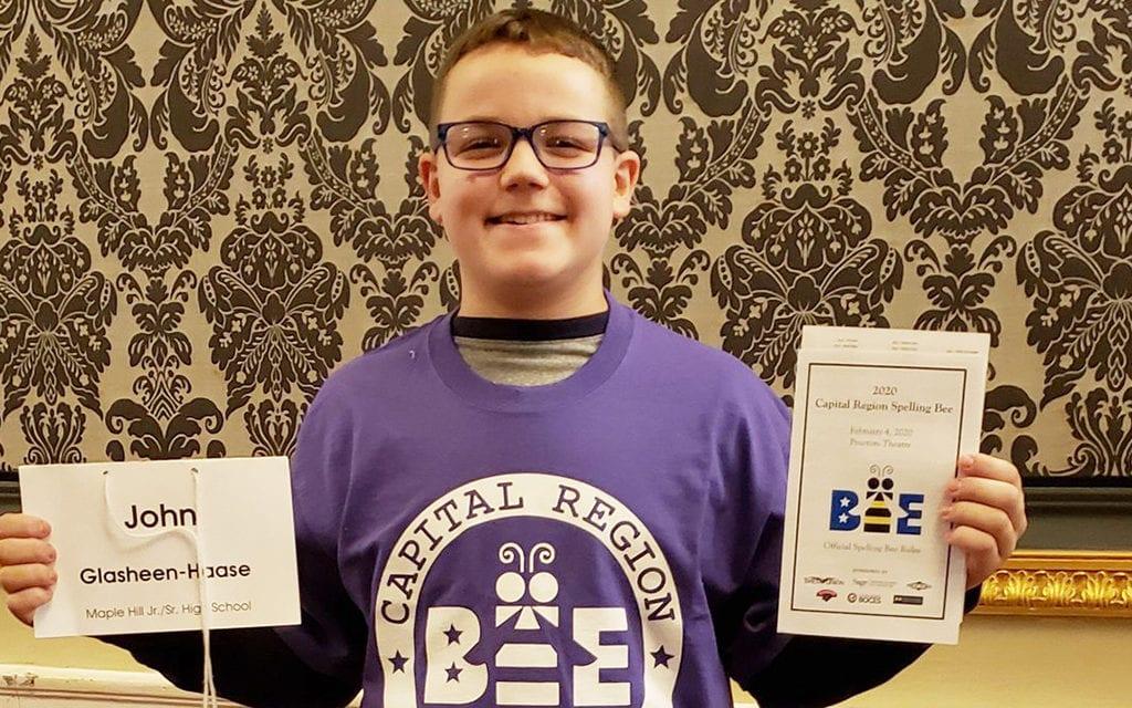 Spelling Bee contestant