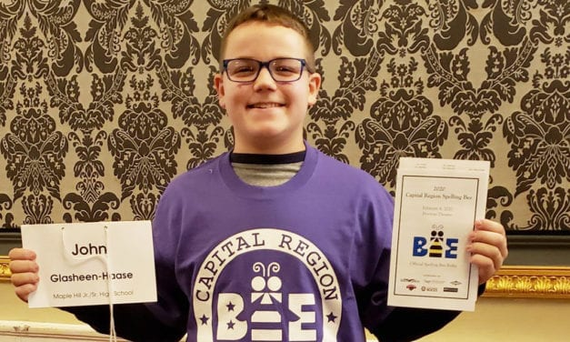 Student Excels at Regional Spelling Bee