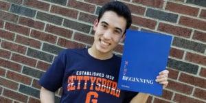 Student for senior signing