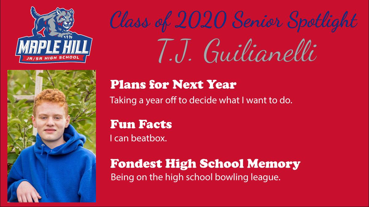 Class of 2020 Senior Spotlight