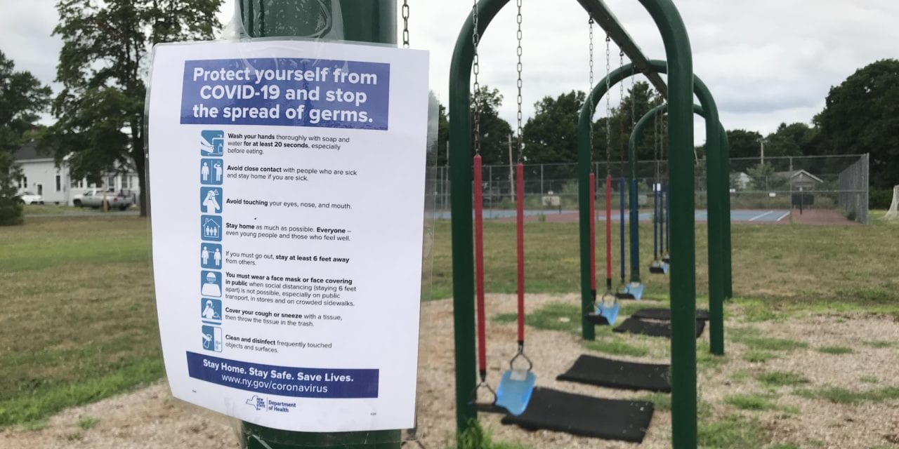 District Playgrounds Reopen