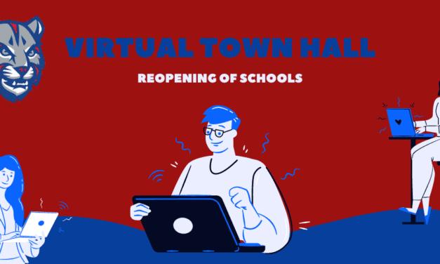 Upcoming Virtual Community Town Halls