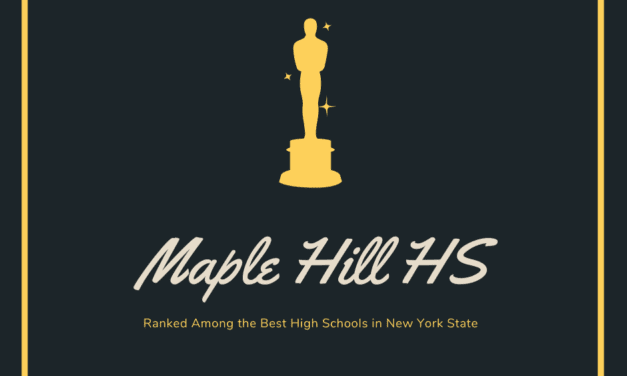 Maple Hill Ranked Among Best High Schools in State