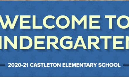 Kindergarten E-Newsletter Aug. 10, 2020