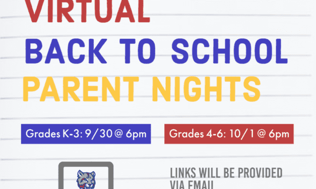CES Virtual Back to School Nights