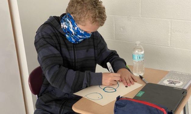 Students Make Their Mark on International Dot Day