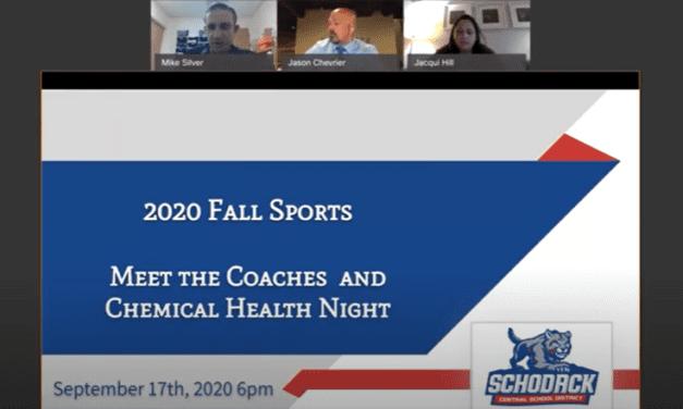 Meet the Coaches Night (VIDEO)
