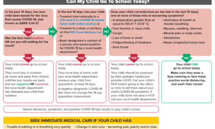 DOH Return to School Protocols and Flowchart