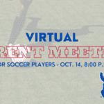 Virtual Parent Soccer Meeting