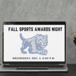Virtual Fall Sports Awards Dec. 2