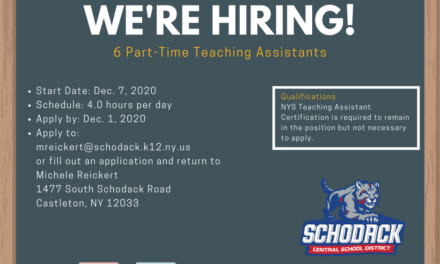 We're Hiring: Part-Time Teaching Assistants