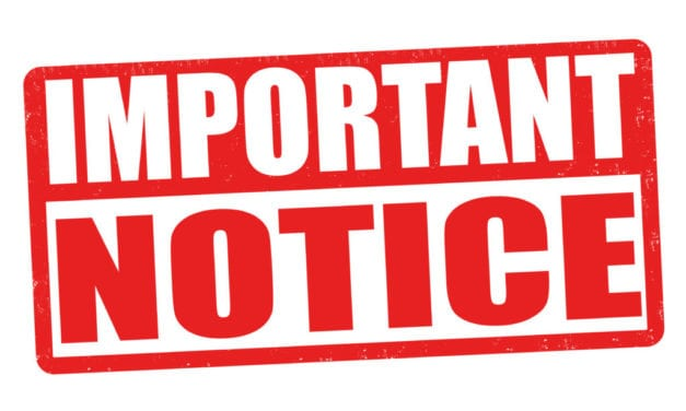 Important Notice From SCSD 1-14-2021